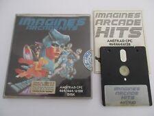 IMAGINE'S ARCADE HITS Compilation 6 Jeux - AMSTRAD CPC DISK 464 664 6128 Complet