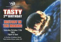 (RAVE FLYER 2003) TASTY / HONEYPOT @ BRIXTON.LONDON. DJ SLIPMATT. BILLY BUNTER
