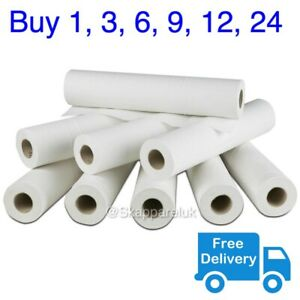"""White Couch Roll Bed Cover Paper 20"""" 40M Hygiene GP Beauty Salon Massage Table"""