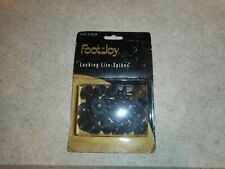 New pkg of 22 foot joy lite spikes metal golf spikes hardened steel +delrin