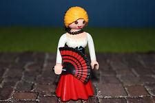 PLAYMOBIL FIGURINES Espagnol FEMME série 9