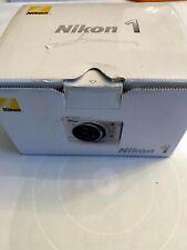 Nikon 1 J1 10.1MP Digital Camera - White (Kit w/ 10mm and VR 10-30mm Lenses)