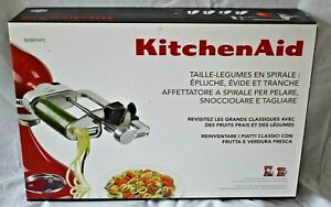 NEW KitchenAid Spiralizer with Peel Core & Slice 5KSM1APC