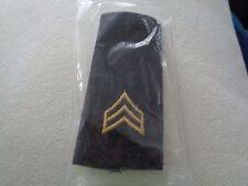 ^ (A30-7) US Schulterklappen Shoulder Bord Sergeant long org. Verpackt