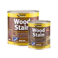 Everbuild 250ml Woodstain Satin Dark Oak