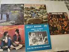 New listing Fiddle 5 Lp Lot Billy Baker Hasty Lonesome Buck Ryan Carl Nelson Fever Violin