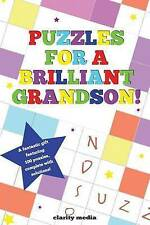 NEW Puzzles For A Brilliant Grandson by Clarity Media