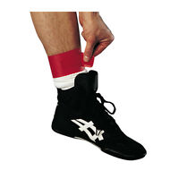 Ankle Bands Set of 4 - 2 Red/2 Green