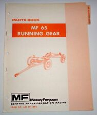 Massey Ferguson MF 65 Wagon Running Gear Parts Catalog Manual Book Original 7/78