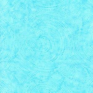 Timeless Treasures Fabrics Tonga Batiks Wish Spin Dots Pool Blue