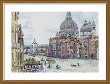 Counted Cross Stitch Kit NOVA SLOBODA СР3313 - Pearl of Italy