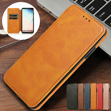 Magnetic Flip Leather Wallet Phone Case Cover For Samsung S10 Plus S10e Note9 S8