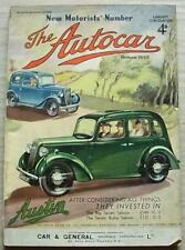 The AUTOCAR Magazine 4 Mar 1938 Alvis Tourer & Studebaker Commander Tested