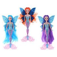 Swimming Mermaid Princess Doll Mermaid Doll Toy Modern Girl With Curly Hair