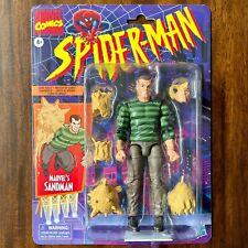 Sandman Marvel Legends Spider-Man Retro series Mint on Card In Hand & Ships Fast