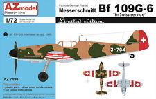 AZ Model 1/72 Messerschmitt Bf 109G-6 Swiss Service, LE # 74090