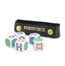 Poker Dice / Liar Dice - Deluxe in Leather Case