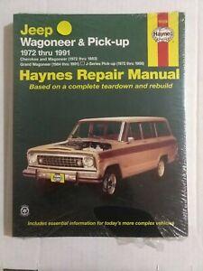 Jeep Wagoneer & Pickup 1972-1991 Haynes repair manual 50029