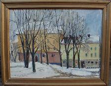 Richard Öster 1916-1978, Häuser in Uppsala, um 1950