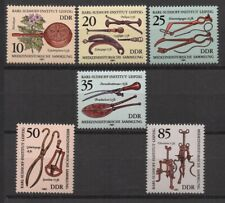 Germany DDR 1981 Sc# 2213-2218 Mint MNH medical instrument science doctor stamps