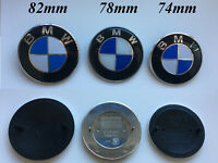 BMW High quality badge hood trunk blue white 82/78/74mm logo e/f series