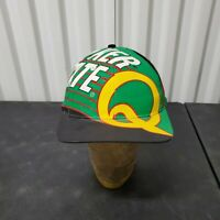 VTG 90's Quaker State Oil Racing All Over Print Snapback Hat Cap