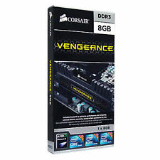 Corsair 8GB Vengeance (CMZ8GX3M1A1600C10) DESKTOP PC DDR3 1600 MHz RAM dt