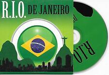 R.I.O. - De Janeiro CD SINGLE 4TR House 2007 DUTCH CARDSLEEVE RARE!