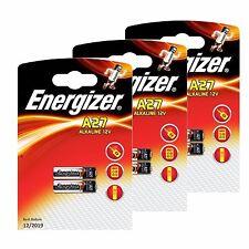6 x Energizer A27 12V Alkaline Battery MN27 27A GP27A L828 CA22 Batteies