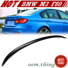 NEW BMW F30 4DR M3 Type 328i 320i 3-Series Rear Trunk Spoiler Wing ABS 2014