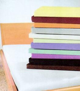 2 Pack Brushed Cotton Flannelette Fitted Sheets 100% Cotton Mixed Colours