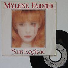 """Vinyle 45T Mylène Farmer  """"Sans logique"""""""