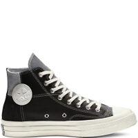 Converse Chuck 70 Mixed Material High Top Shoes Black/Cool Grey 163220C