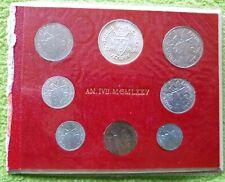 VATICAN VATICANO COIN Set 1975IVB with silver 500 LIRE