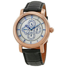 Lucien Piccard Valarta Retrograde Day Mens Watch LP-40009-RG-02S