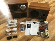 New listing Tivoli Audio Henry Kloss Model Two Speaker System /w Subwoofer Natural Wood