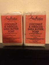 Shea Moisture Coconut Hibiscus Shea Butter Soap. Lot Of 2 Soaps.Great Buy!!!