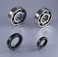 KIT ROULEMENT VILEBREQUIN BEARING WORX HONDA 125 CR 1986-07
