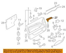 AUDI OEM 07-15 Q7 Front Door-Light Bar 8P3919177