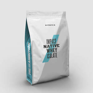 My Protein IMPACT NATIVE WHEY ISOLATE Banana Cinnamon 2.5kg from Grass Fed Cows