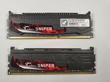 G.Skill Sniper Series DDR3 2x4GB 8GB 1866MHz CL9 RAM Memory (F3-14900CL9D-8GBSR)
