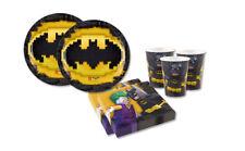 KIT N 1 LEGO - BATMAN COORDINATO FESTA COMPLEANNO BAMBINI PIPISTRELLO