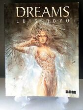 LUIS ROYO - DREAMS Erotic Art Science Fiction Fantasy 1999 NBM Paperback Book