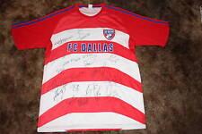 FC DALLAS SIGNED 2010 REPLICA MLS SOCCER JERSEY