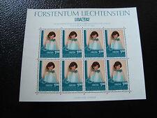 LIECHTENSTEIN - timbre/stamp Yvert et Tellier n° 739 x8 n** (Z2)