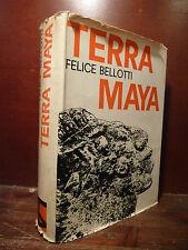 Storia, Felice Bellotti: Terra Maya 1963 L. Da Vinci Sacrifici Messico Inca Oro