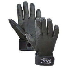 Petzl cordex belay rappeling climbing gloves Black Large K52LN