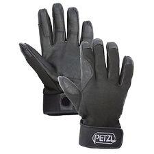 Petzl cordex belay rappeling climbing gloves Black Large K52LN