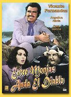 Entre Monjas Anda El Diablo (Vicente Fernandez & Angelica Maria) Brand New DVD