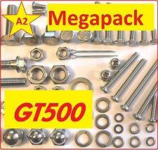 Suzuki GT500 - Nut + Bolt + Washer + Screw + Fastener Stainless A2 MegaPack